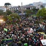 .@MashiRafael agradece a la ciudadanía que llenó la Plaza Grande de #Quito en respaldo al Gobierno #Enlace490 https://t.co/Vo6Zto60Af