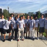 @UMGRIZZLIES_BB out helping new students get moved in today. Way to start off the year for #GrizInTheCommunity ! https://t.co/NhHSXOaS3o