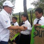 Pdte @JC_Varela llega al IPT Alto de Piedra en Veraguas para participar en jornada de reforestación #ReforestaPanamá https://t.co/qxNhF3eMxS