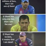 I am not a fan of winning #Dhoni..I am a fan of @msdhoni ..!! Grow up haters.! Keep calm n believe in Mahi #IndvsWI https://t.co/a9f6sWidkP
