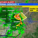The latest SEVERE T-STORM WARNINGS for our area. More at https://t.co/UmLMKq4bHP and on-air @WHIOTV https://t.co/UTl5ldH0DS