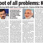 Modi root of all problems: Kejriwal https://t.co/djoS6bXDcE