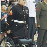 Hey Colin Kaepernick, you refused to stand during the national anthem? This HERO still stands. 🇺🇸 https://t.co/h5ezfyazZb