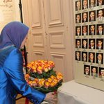 https://t.co/48D0iaUTeL  Rajavi attends exhibition of victims of the 1988 #Iranian prison massacres in #Paris #News https://t.co/2NDmtTbvc6