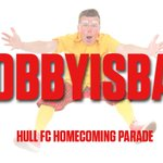 Bobby Bubbles returns and finally gets chance to do a Cup winners parade! See him at tomorrows event! #bobbyisback https://t.co/3h6wkmCAKZ