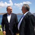 Paying an unofficial visit to Crete upon the invitation of FM @NikosKotzias of #Greece https://t.co/gOY887wK1e