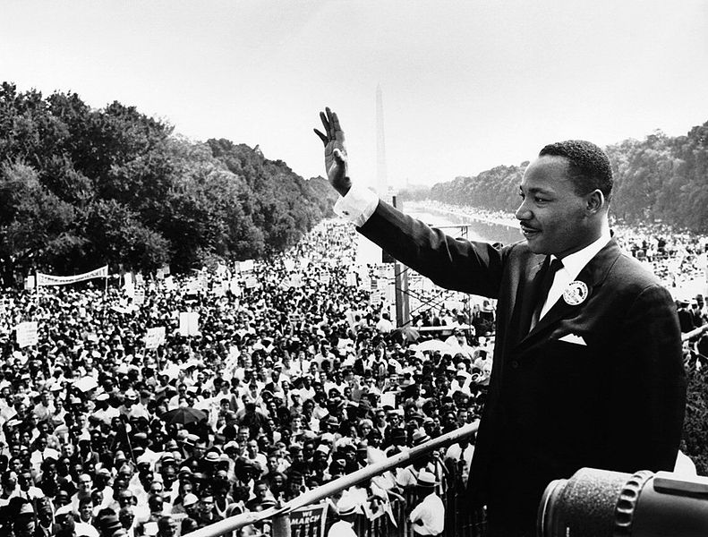 """""""I have a dream..."""" --Martin Luther King, Jr. #OTD in 1963 https://t.co/5D31Us5AJm #AmericanExperience https://t.co/ZjkoFDFoon"""