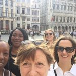 #CEAC16 weve arrived in Brussels. Still not cracked this selfie thing. The Grand Place, but not as you know it.. https://t.co/KuQgu0RKoz