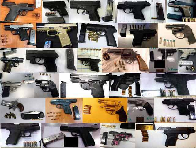 TSA sees record-breaking week of weapons