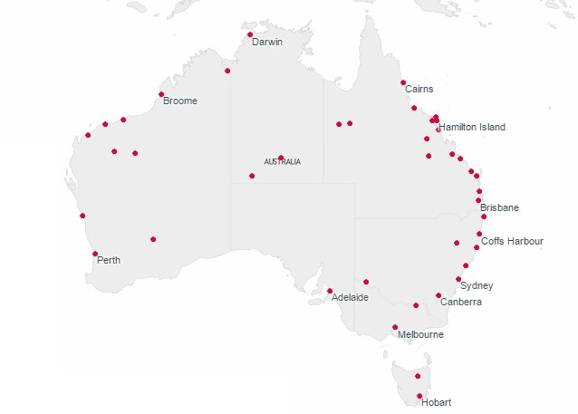 Wondering where to fly next on our domestic network? Our interactive route map can help: