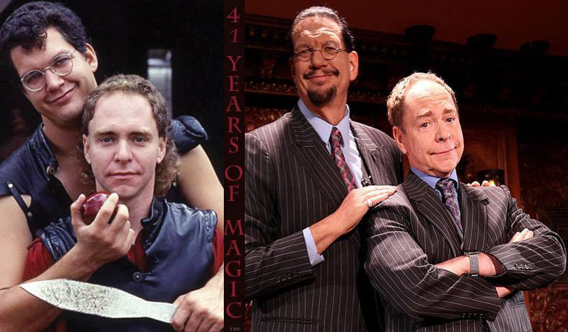 Congrats to @pennjillette & @MrTeller on the 41st anniversary of their first show together. Here's to many more! https://t.co/Hdfl20IUk8