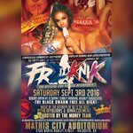 HIT ANY PROMO HEAD UP IN THE COMMITTEE FOR A FREAKNIK TICKET! WE ARENT HOLDING TICKETS THEY ARE MOVING TOO FAST‼️https://t.co/rcuwq7C2Gv