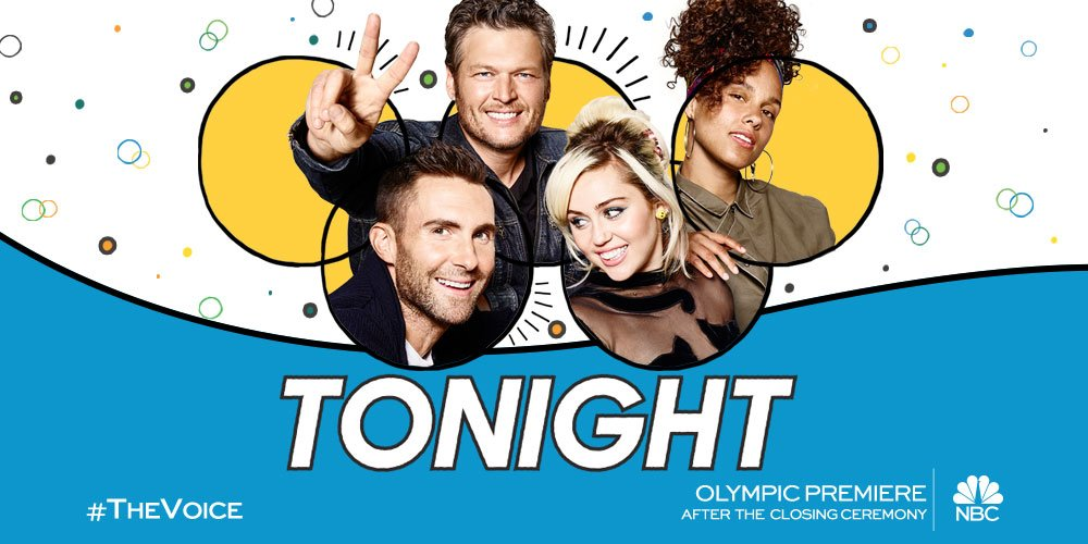 LET THE GAMES BEGIN tonight after the Olympics Closing Ceremony! #TheVoice - Team BS https://t.co/e6C0uRb9md
