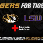 Itll be a battle October 1st but right now there are things bigger than football. From 🐯 to 🐯. Support Louisiana. https://t.co/qvR3WCbmfN