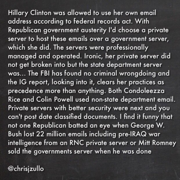 Let's set the record straight about #HillarysEmails https://t.co/9EuKMRU7XP