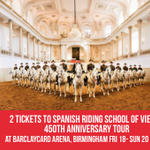 #WIN! 🐴 2 TICKETS to @SRSLiveTour at @BcardArena #Birmingham 18-20 Nov. Simply RT before 2/11 to enter! https://t.co/n7pgaPc5zS