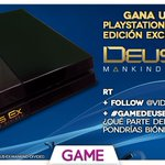 REGALAMOS PS4 RT + Follow + #GAMEdeusEX ¡ÚLTIMA HORA! ¡Cuanto más participes, más posibilidades de ganar! https://t.co/Z1g0z8dLza