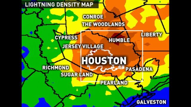 Houstonarea is the lightning capital of texas scoopnestcom