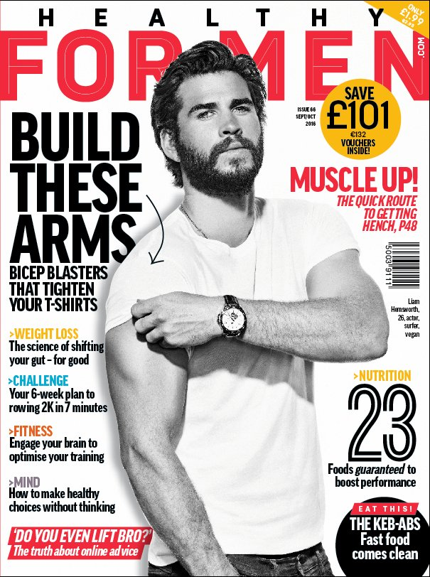 The new issue of @HealthyForMen is out now. Pick your copy up in one of our stores! https://t.co/Wj2dRgeBHH