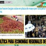 La ayuda a las economías regionales de Mau ya da sus frutos en Plaza de Mayo...Bailando por una pera...#BuenMartes https://t.co/BnwdxEdMbU