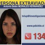 Belén Morales, extraviada en Caldera. Ayuden a encontrarla, por favor La PDI pide multiplicar ya esta información https://t.co/uhxjOy5Lar