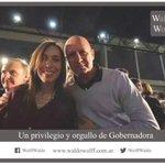 Codo a codo con @mariuvidal. Fuerza Gobernadora!! https://t.co/g4ZKxsbYVf