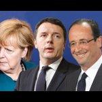 #Merkel e #Hollande danno la linea a Renzi pure sul #ReferendumCostituzionale Povero Paese sotto tutela. #Ventotene https://t.co/nqXK3J4Vxb