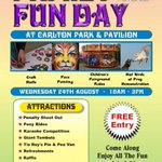 Check out this fabulous family fun day in Carlton #barnsleyisbrill come down today! please share https://t.co/A3a2jDk8YT