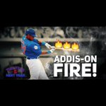 Addison Russell is officially locked in. Oh baby he is on fire!! #GoCubsGo https://t.co/iYxLhSLaXz