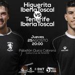 Pretemporada  UD Higuerita - Tenerife Iberia Toscal Jueves 25   20:00   Entrada Gratuita https://t.co/mOxNwdwkPm https://t.co/NJcoZ1fJRR