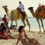 Wonder how world would react if armed Dubai police forced these women to wear a burka and fined them? #BurkiniBan https://t.co/CA7mZVoxgd