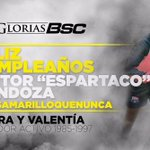 Feliz día Espartaco ! #MasAmarilloQueNunca https://t.co/SRBIBDhsj3