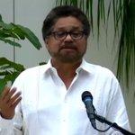 Discurso del Jefe de la Delegación de #Paz de las FARC-EP, Iván Márquez https://t.co/YLixbg8wAJ #PazenColombia https://t.co/j67eYK9xNl
