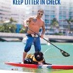 Get on deck and keep litter in check! #KeepMBClean https://t.co/fPWWGlJhoO