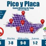 #PicoyPlaca, para vehículos particulares y taxis, en el Centro Histórico desde las 7:00 a.m. hasta las 7:00 p.m. https://t.co/wsrwjHyXyX