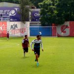 .@jairpereira16 en la práctica de hoy con @Chivas @NTRGuadalajara https://t.co/Swk126YKNq