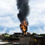 RT @ciiZar_ el incendio en Luis Alcaraz!! https://t.co/sG5OCaSCwo