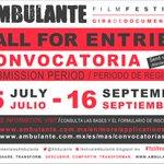 .@Ambulante Gira de Documentales 2017 abre su convocatoria, hasta el 16 de septiembre: https://t.co/mtOFZJeFNs https://t.co/vzhlmvfo3C