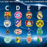 Le tirage complet de la phase de poule de la Ligue des Champions 2016/2017 ! https://t.co/97j0bsGtsm
