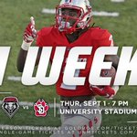 This time next week, itll officially be football season. #GoLobos https://t.co/Afe2dLmutu