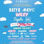 In case you missed it! New additions to the @CircleFestival lineup. Grab your ticket through https://t.co/pRWh2axN1p https://t.co/bQGOTpVPj3