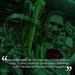 Meus parabéns a @SEPalmeiras e sua imensa torcida! https://t.co/AFF4PJHDke