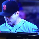 Giants pitcher Matt Moore has his no hit bid broken by bloop single with 2 outs in the 9th. https://t.co/CA6GEUlgG3
