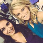 Welcome back to #GMJ Monica! (And no, purple is NOT the color of the #Jags ... Close though!😘) https://t.co/V6T3vOL6hp