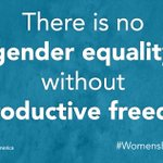 Happy #WomensEqualityDay! Controlling our own bodies, futures & destinies is integral to achieving gender equality. https://t.co/3ynxtsJ6Gx