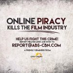 PIRACY: Let us help to fight this Crime! Kindly spread. #BarcelonaTrailerWorldPremiere #PushAwardsKathNiels https://t.co/oMRLdeYL27