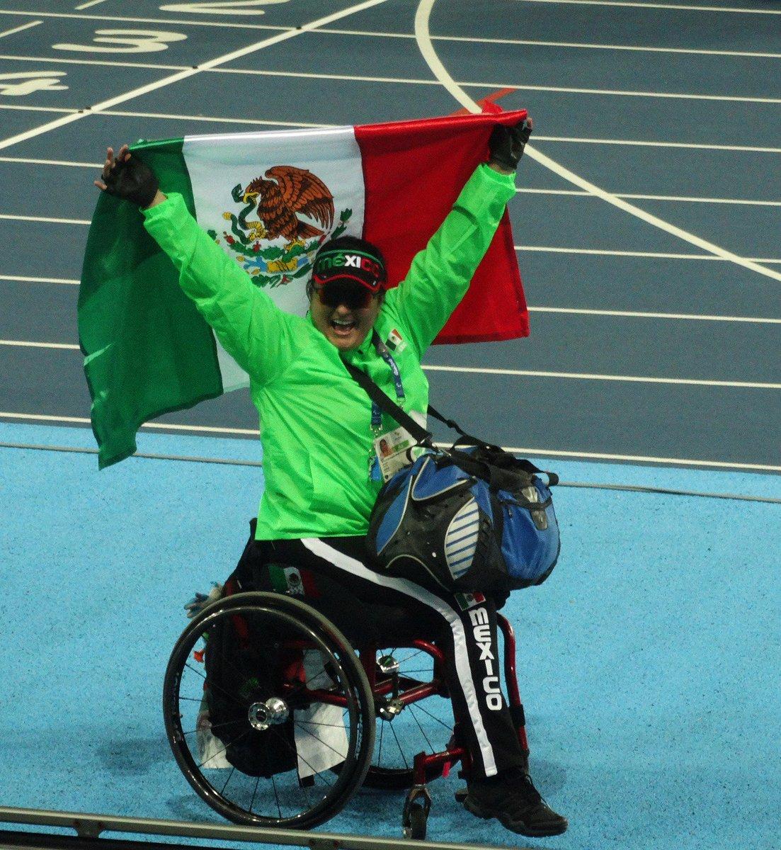 #RioXCONADE Se convierte @angelesmundial en bicampeona paralímpica e inaugura la cosecha de medallas de