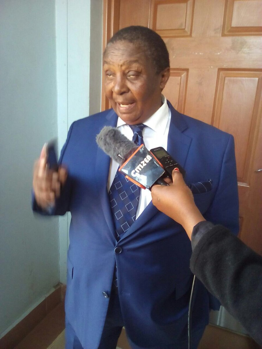 A 59 yr old man goes to court to stop the burial of William Ole Ntimama, claiming Ntimama is his biological father. https://t.co/rzfXYVZA3w