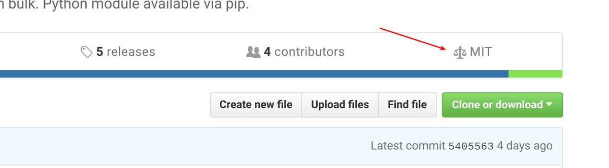 oh look @github added a licence link at the top of the repo page https://t.co/hL6R5D99uS