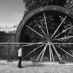 Old millwheel, #Maynooth (built c.1850) - a place of grain, grinding and gossip! https://t.co/NhTSkmOx2w #Ireland https://t.co/TuyfDu3QI0